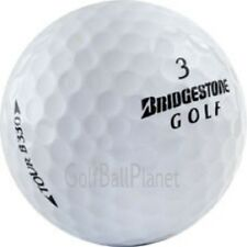 120 Bridgestone Tour B330 AAA+ Used Golf Balls + Free Tees