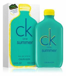 Parfum Unisexe Ck One Summer 2020 Calvin Klein 100 ml Neuf Authentique
