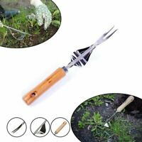 New Homes Garden Hand Weeder Stainless Manual Weed Puller Bend-Proof #T