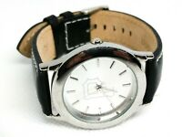 FOSSIL Watch PR1712 PR-1712 Pittsburgh Pirates White 35mm face leather band