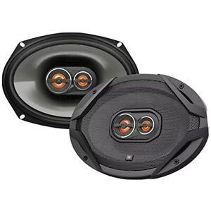 "4X JBL GT 6""X9"" 3-WAY 210 WATTS GT CAR AUDIO COAXIAL LOUD SPEAKERS SET I NEW"