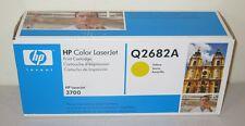 HP Q2682A Yellow LaserJet 3700 Toner Cartridge - NEW Genuine Sealed