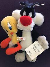 Steiff Stuffed Animals Limited Edition Sylvester & Tweety Pie