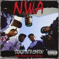 NWA ~ Straight Outta Compton ~ NEW CD Album 20th Anniversary +Bonus Tracks N.W.A