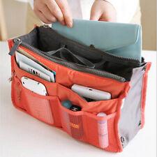 Cosmetic Bag Organiser Purse Organizer Bag Portable Travel MakeUp Bags for WQA