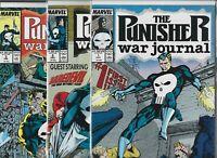 Punisher War Journal #1, #2 & #3  Lot of 3 (1988/1989, Marvel Comics)
