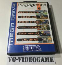 MEGA GAMES 6 SEGA MEGADRIVE