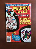 Marvel Tales #75 (1977) 6.0 FN Key Issue Bronze Age Comic Book Spider-Man