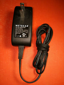 Genuine OEM Netgear T012LF1209 332-10166-01 AC DC Power Adapter 12V Plug Cord