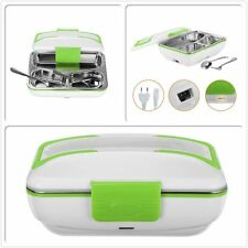 Portable Electric Lunch Box Food Heater with Removable Stainless Steel Container