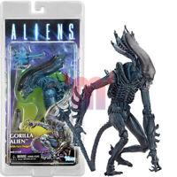 "NECA Gorilla Alien W Face Hugger 7"" Action Figure Aliens Dark Horse Series 10"