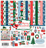 """New Carta Bella 12"""" x 12"""" Paper Collection Kit Merry Christmas"""
