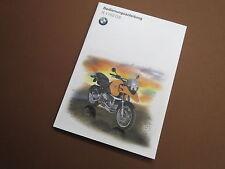 BMW r1150gs Manuel d'utilisation 7798348