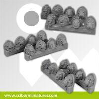 Scribor Miniatures: Lion Shoulder Pads - SMM-CPSH0004