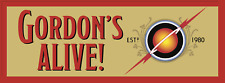 """Brian Blessed Official Novelty Car Sticker """"Gordon's Alive"""""""