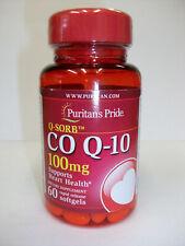 Puritan's Pride Q-SORB  CO  Q-10  100 mg  60 Softgels  Supports Heart Health