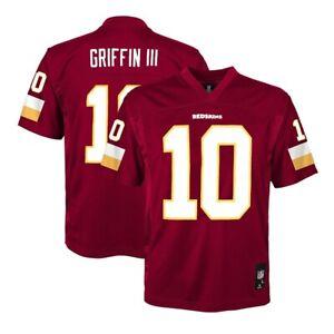 Robert Griffin iii NFL Washington Redskins Mid Tier Burgundy Jersey Youth XL