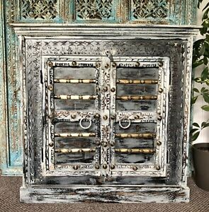 Indian Reclaimed Wood Almirah Cupboard/ Sideboard, Furniture, Home And Living