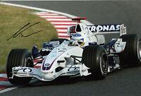 Nick Heidfeld Hand Signed BMW Sauber F1 12x8 Photo 2.