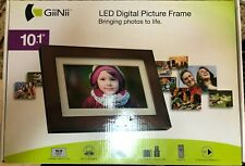 """NEW Giinii 10.1"""" Digital Picture Frame Unopened Box"""