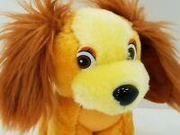 "Vintage Disney Lady and the Tramp Puppy Dog Plush Stuffed Animal Plush Toy 7"""