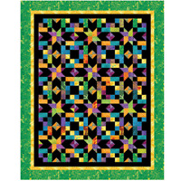 Starbright Quilt pattern - Cozy Quilt Designs