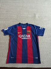 BARCELONA 2016 2017 #10 MESSI HOME   JERSEY Size Small