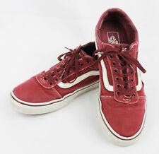 Vans Old Skool Burgundy Sneakers Mens 11 Dark Red Maroon Skater Shoes