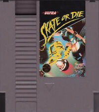SKATE OR DIE CLEANEST GAME AVAILABLE ORIGINAL CLASSIC NINTENDO GAME NES HQ