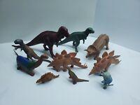 Vintage 1970's DINOSAUR British Museum Invita and Other Plastics Figurines Lot