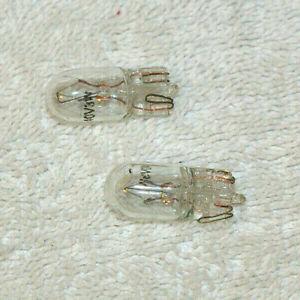 2 X CAPLESS 40 VOLT 3 WATT  CLEAR BULB SAKURA SCOOTER
