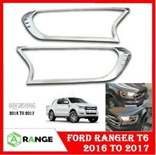 3 PC Chrome Trim Posteriore Portellone Maniglia Surround per FORD RANGER 2012 sulla Wildtrak