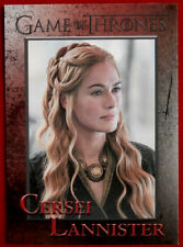 GAME OF THRONES - Season 5 - Card #46 - CERSEI LANNISTER - Rittenhouse 2016