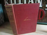 Intimate Papers of Colonel House Antique Hardcover History Book by Seymour