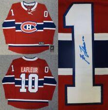 Autographed Guy Lafleur Montreal Canadiens Jersey