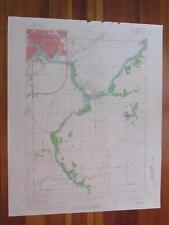 Kankakee Illinois 1965 Original Vintage USGS Topo Map