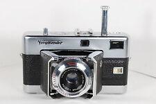 Clean VOIGTLANDER Vittessa Range Finder Camera with COLOR-SKOPAR 50/3.5 Lens