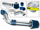BCP BLUE 97-03 S-10/Sonoma/Hombre 2.2L Cold Air Intake Induction Kit + Filter