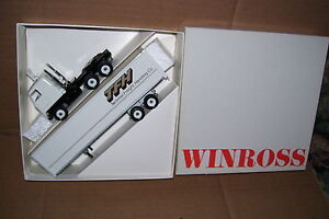 1987 TFH Terminal Freight Handling Co. Winross Diecast Trailer Truck