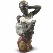 Lladro African Bond Mother Figurine 01009159 / 9159