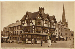 Herefordshire Postcard - Jacobean House, High Town, Hereford - Ref TZ5883