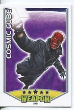 Marvel Hero Attax Series 1 Base Card #198 Cosmic Cube [Red Skull]