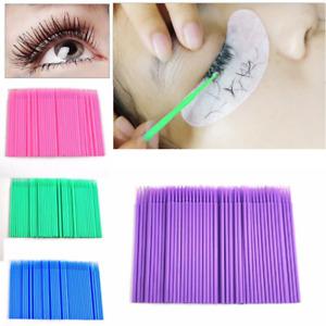 100pcs/20pcs Dental Micro Brush Disposable Materials Medium Tooth Applicators