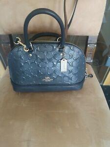 😍 COACH Handtasche In Blau 😘