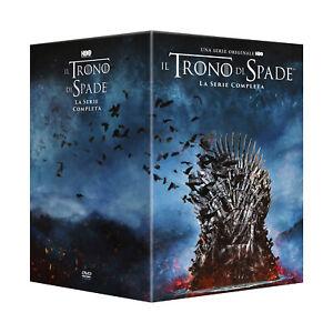 Trono Di Spade Stagioni 1 - 8, Il - Stand Pack Cofanetto con 38 Dischi DVD