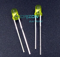 500PCS Diffused LED 3MM YELLOW COLOR YELLOW LIGHT Super Bright GOOD QUALITY