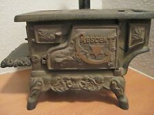 Vintage Miniature CRESCENT Stove, ?Salesman Sample/Toy/Deco, Iron**BEAUTIFUL!!!