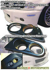 Air Duct Dual Vent Fog Covers (ABS) Fit (01-06 BMW E46 M3)