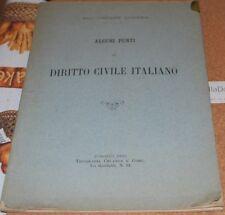 LOSANA - ALCUNI PUNTI DI DIRITTO CIVILE ITALIANO 1885