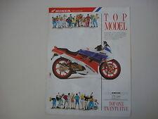 advertising Pubblicità 1990 MOTO HONDA NSR 125 R
